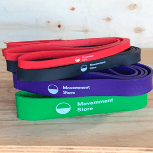 Elastic Exercise Bands Set with four colours